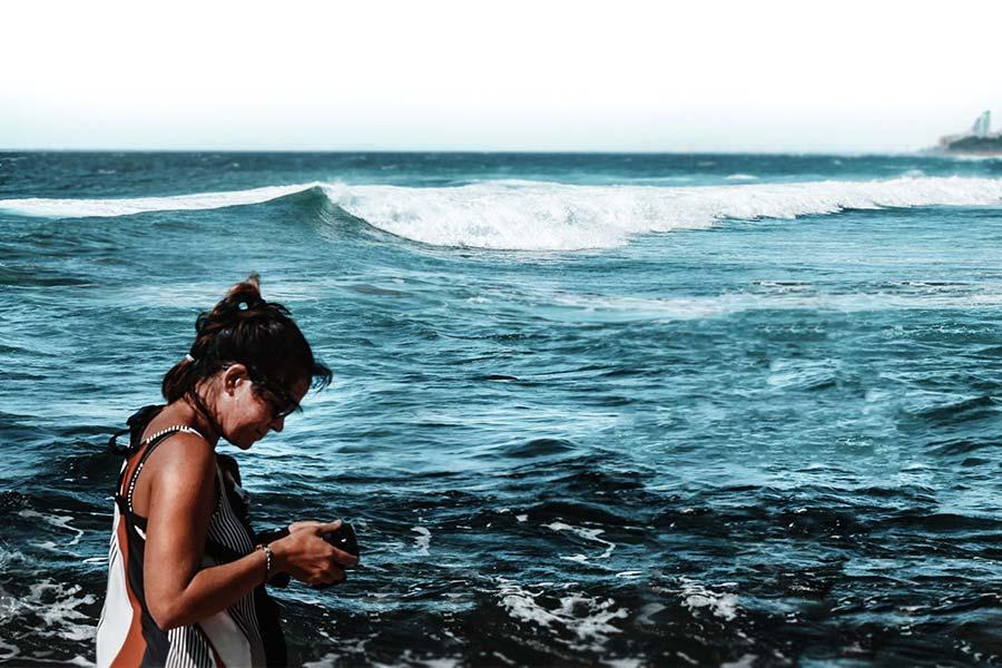 Women in Water, Casey Pratt